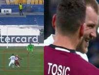 DINAMO KIEV - Tosic, penaltıda Yarmolenko'ya ne söyledi?