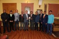DAVUT GÜL - TSYD Sivas İl Temsilciliği'nden Vali Gül'e Plaket