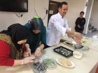 RAMAZAN CEYLAN - Ustalardan Pursaklarlı Hanımlara Balık Pişirme Eğitimi