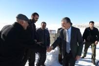 AĞAÇLı - Vali İbrahim Özefe, Köy Ziyaretlerini Sürdürdü