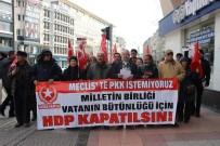 İNCIRLIK - Vatan Partisi'nden 'HDP Kapatılsın' Çağrısı