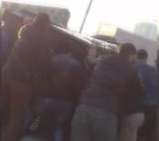 İKITELLI - Vatandaşlar polislerin yardımına koştu