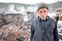CUMHURİYET ALTINI - Yangının Evsiz Bıraktığı Aileye Yardım