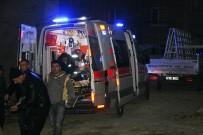 BAŞPıNAR - Asansör Boşluğuna Düşen İşçi Yaralandı