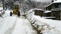 Bartın'ın Yüksek Kesimlerde Kar Kalınlığı 30 Santime Ulaştı