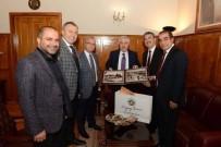 EGE ÜNIVERSITESI - Belediye Başkanlarından Ege Üniversitesi'ne Ziyaret