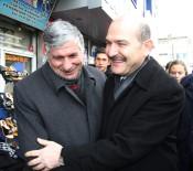 HATIRA FOTOĞRAFI - İçişleri Bakanı Van'da Esnaf Ziyareti Yaptı