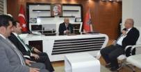 KIŞ OLİMPİYATLARI - Ilıcalı'dan, Emniyet Müdürü Aslan Ve GHSİM İl Müdürü Taşkesenligil'e Ziyaret