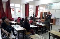 TRAFİK KURALLARI - Jandarmadan Öğrencilere Trafik Semineri
