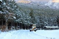 GÜNEŞLI - Kar Tatilini Fırsat Bilen Öğrenciler Piknik Yaptı