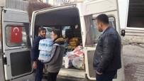 ASIRLIK ÇINAR - Kargı Ülkü Ocakları'ndan Türkmendağı'na Yardım