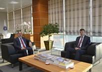 AHMET ATıLKAN - Kaymakamı Atılkan'dan NKÜ Rektörü Şimşek'e Veda Ziyareti