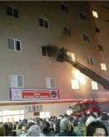 YANGINA MÜDAHALE - Mardin Kız Yurdu'nda Yangın Paniği