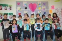 EBRU SANATı - Minik GKV'liler Ebru Sanatıyla Tanıştı