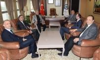 SELIM PARLAR - Odunpazarı Kaymakamı Ve Eskişehir Vali Yardımcılarından Rektör Gönen'e Veda Ziyareti