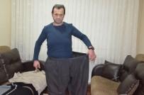 MİDE AMELİYATI - 2 Yılda 100 Kilo Verdi, Eski Pantolonuyla Poz Verdi