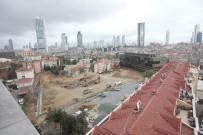 ALIŞVERİŞ MERKEZİ - Şişli'de Yapılması Planlanan 4 Gökdelenin İnşaatı İkinci Kez Durduruldu
