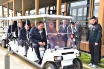 YILDIRIM DEMİRÖREN - TFF Yönetimi Golf Sahasına Hayran Kaldı