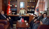 BULDUK - Vergi Dairesi Başkanı Müsevitoğlu'ndan AYTO Başkanı Ülken'e Ziyaret