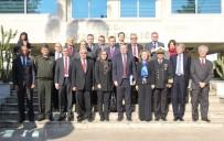 JANDARMA KOMUTANI - AB Büyükelçileri Mersin'de