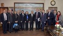 KADIN SIĞINMA - AB Büyükelçilerinden Mersin Büyükşehir Belediyesi'ne Ziyaret