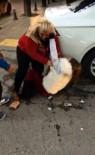 Ankara'da saç saça baş başa kadın kavgası!