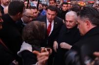 GÖZLEME - Başbakan Yıldırım, Çay Davetini Geri Çevirmedi