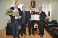 Başkan Şirin'den Baro Başkanı Arslan'a İade-İ Ziyaret