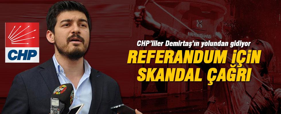 CHP'li başkandan tehdit gibi referandum açıklaması