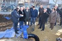 ŞEBEKE HATTI - Ergene'de İçme Suyu Şebeke Hattının Açılışı Yapıldı