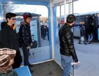 TOPLU TAŞIMA - Erzurumlu klimalı durakları sevdi