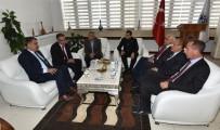 TARıM VE KÖYIŞLERI BAKANı - Eski Bakan Güçlü Gürkan'ı Ziyaret Etti