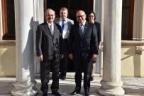 KADİR ALBAYRAK - Eskişehir Büyükşehir Belediye Başkanı Büyükerşen'in Tekirdağ Temasları