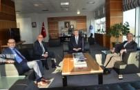 İSMAİL YILMAZ - Eskişehir Büyükşehir Belediyesinden NKÜ'ye Ziyaret