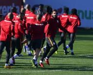 METİN OKTAY - Galatasaray, Gaziantepspor Maçı Hazırlıklarını Sürdürüyor