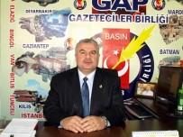 KAR MASKESİ - GAP Gazeteciler Birliği Genel Başkanı Kıymaz Yeniçağ Gazetesine Yapılan Saldırıyı Kınadı