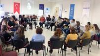 FARKıNDALıK - GAÜN'lü Kadın Akademisyenler, Kadına Şiddeti Sonlandırmak İçin Başlatılan Kampanyada Buluştu