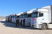 DENİZ FENERİ - Halep'e İnsanı Yardım Malzemesi Gönderildi