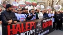 GIYABİ CENAZE NAMAZI - Halep İçin Tek Ses Oldular