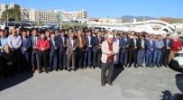 GIYABİ CENAZE NAMAZI - Halep'te Hayatını Kaybedenler İçin Alanya'da Gıyabi Cenaze Namazı Kılındı