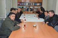 AVRUPA - Kanaat Önderlerinden Kaymakam Alibeyoğlu'na Ziyaret