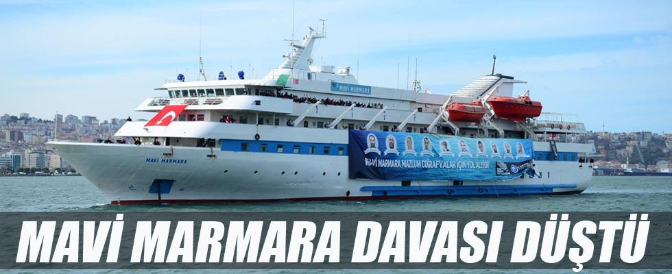 Mavi Marmara davası düştü