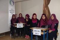MANEVIYAT - Oltu Kız Anadolu İmam Hatip Lisesi'nde Temel Dini Bilgiler Yarışması Düzenlendi