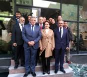 MERAL AKŞENER - Meral Akşener, Yeniçağ Gazetesine Ziyarette Bulundu
