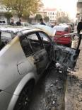 FEVZIPAŞA - Söke'de Seyir Halindeki Otomobil Yandı