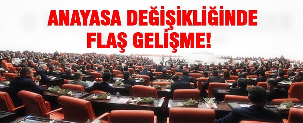AK Parti'nin Anayasa teklifi Meclis'te