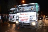 MUSTAFA KÖROĞLU - İşçilerden Bayırbucak Türkmenleri'ne 2 Tır Yardım