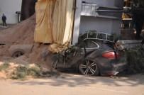 600 Bin Liralık Porsche Hurdaya Döndü