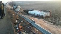Ankara'da otobüs ile mozaik yüklü tır çarpıştı 8 yaralı
