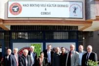 TEŞEKKÜR YEMEĞİ - Başkan Taşdelen'den Cemevine Ziyaret